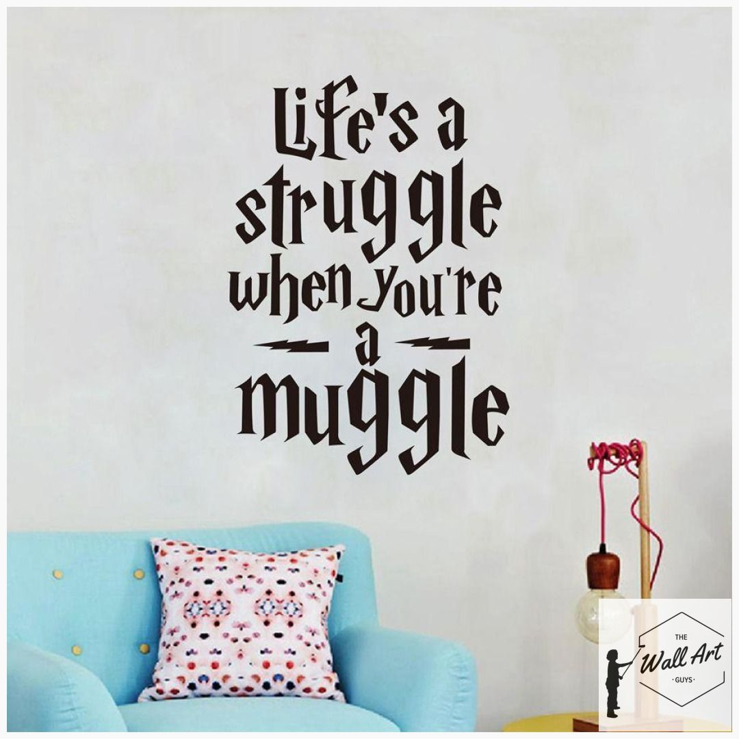 Wall Decal Harry Potter Wall Decal You Are So Loved Poster Vinyl Sticker Gift Decor Wall Decals Wall Decor wall stickers for kids room