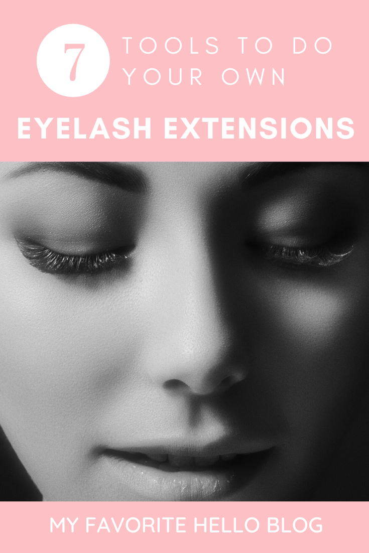 Top 7 Tools to Do Your Own Eyelash Extensions   My ...