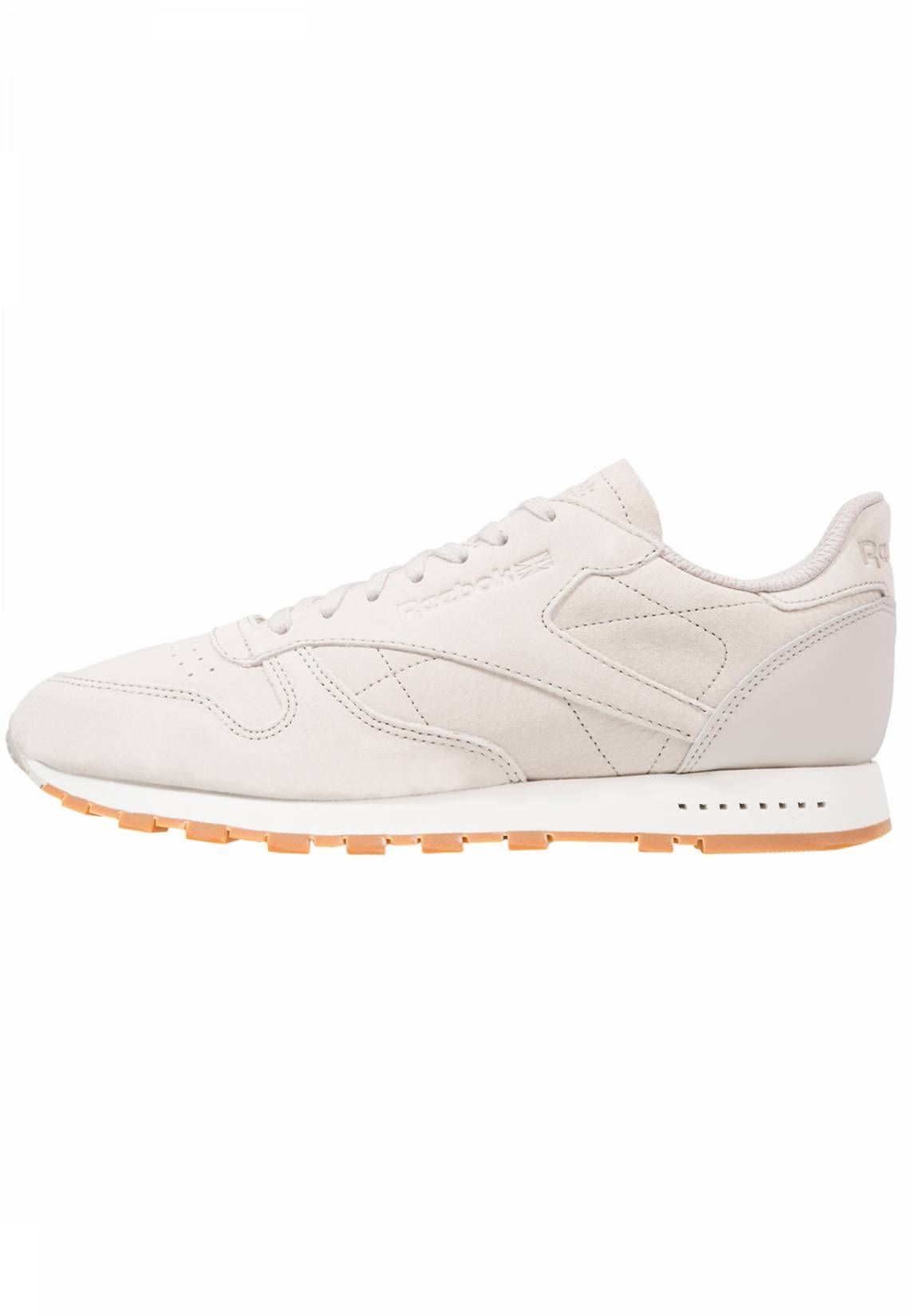 5836d233820df8 Reebok Classic. CL LEATHER SG - Sneakers laag - sand stone chalk. voering