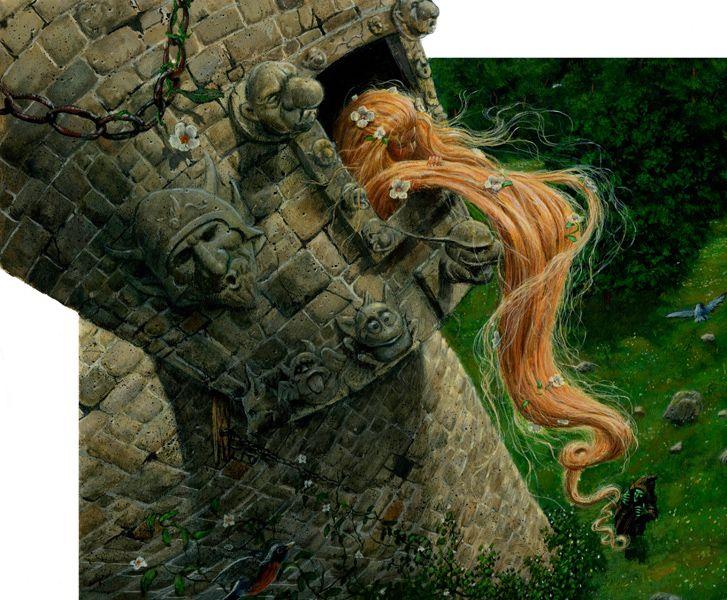 Rapunzel artwork......