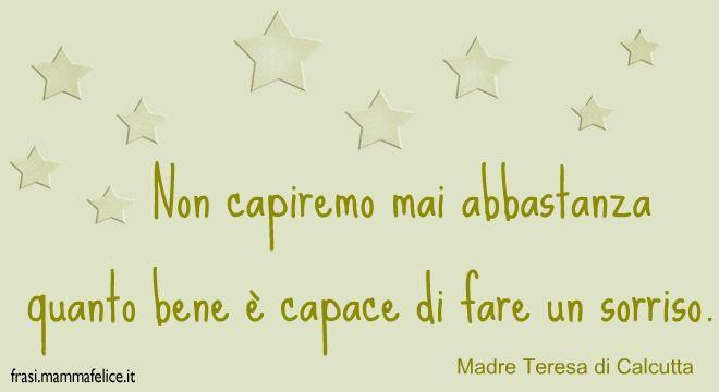 Frasi Sul Sorriso Famose.Frasi E Preghiere Famose Di Madre Teresa Di Calcutta Madre Teresa Poesie Famose Citazioni Per Bambini