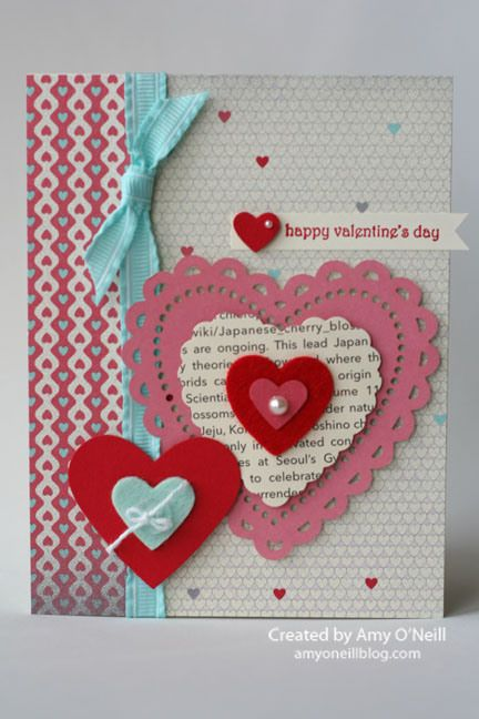 valentine card  CRAFTS CARDS  TAGS  Pinterest  Designs Card