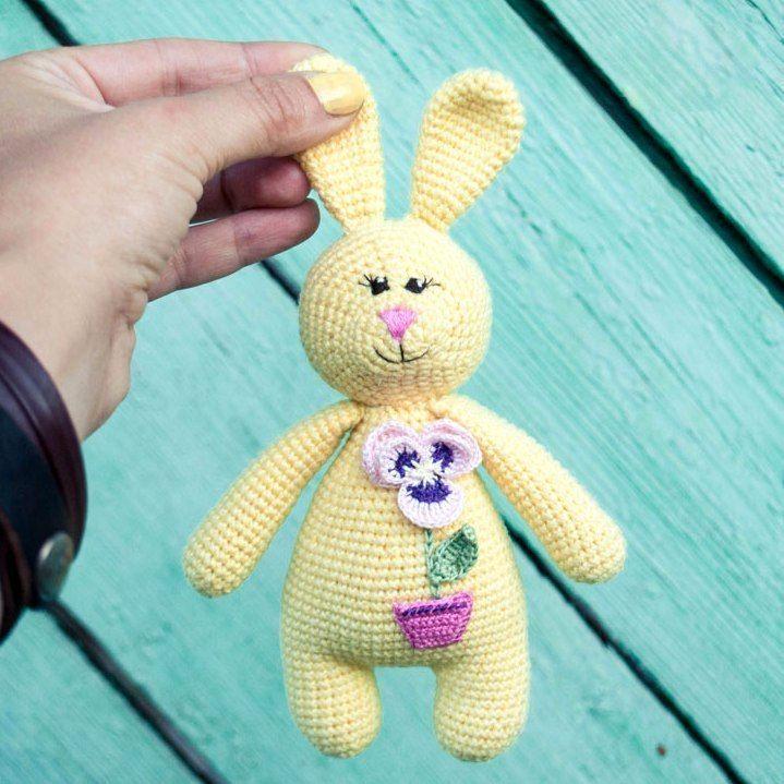 Patrón amigurumi libre - traqueteo de conejo | patrones crochet ...