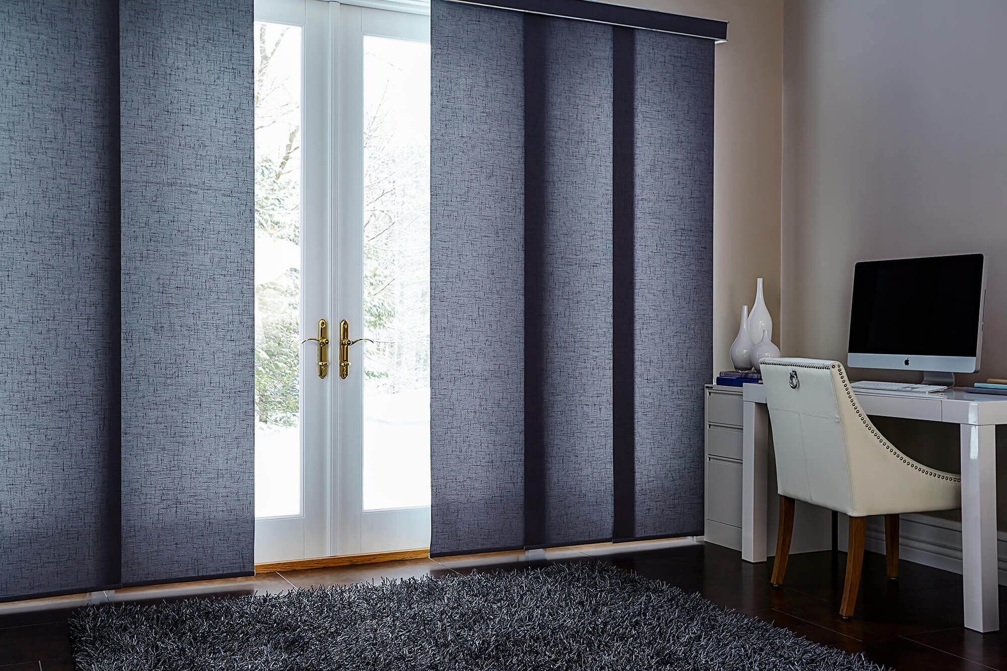 Diy Vertical Blinds Blinds To Go Panel Track Offers A Contemporary Alternative
