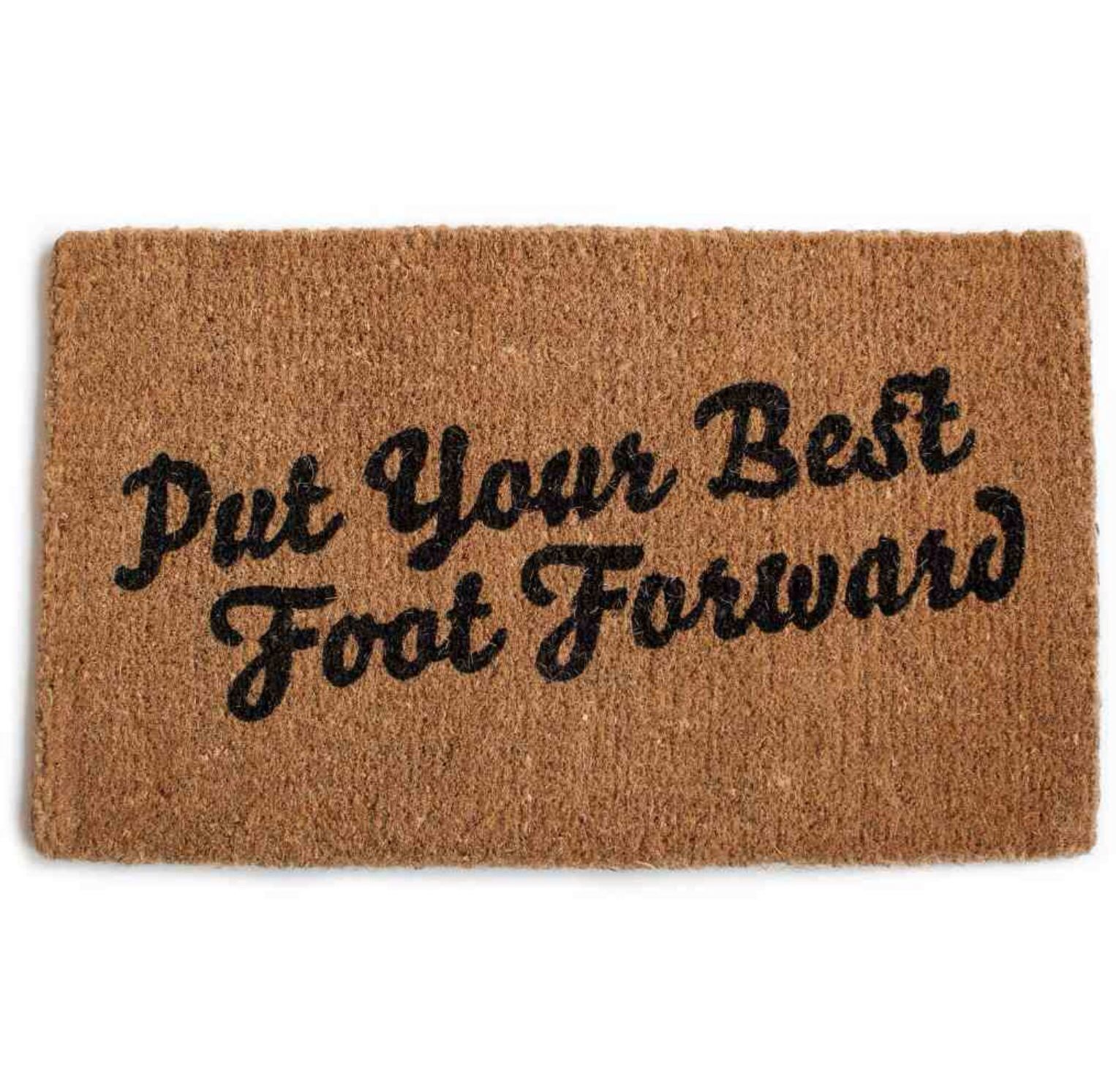 Love The Idea Of Seeing This Each Time You Walk Out Your Front Door Put Your Best Foot Forward Door Mat By Izola