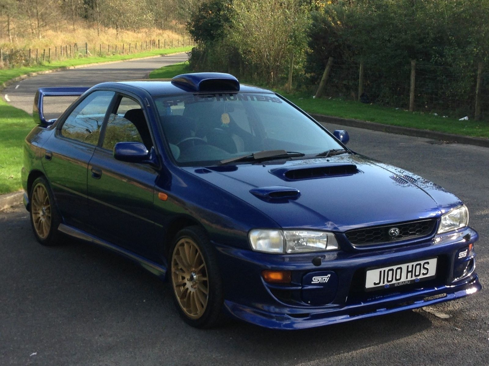 1999 subaru impreza uk turbo 2000 *** wrx sti type ra 4x4 blue 260 ...