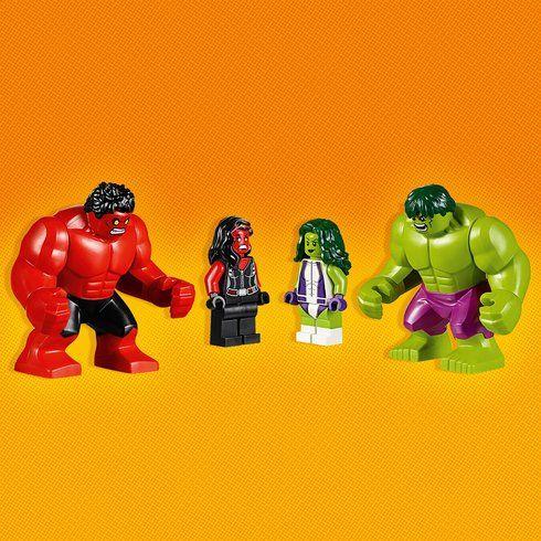 LEGO 76078 Marvel Super Heroes Hulk vs. Red Hulk | Harry's Christmas ...