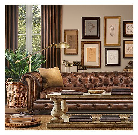 restoration hardware picture frames animal print restoration hardwaretufting brass light and perfect gallery wall with mix of frames