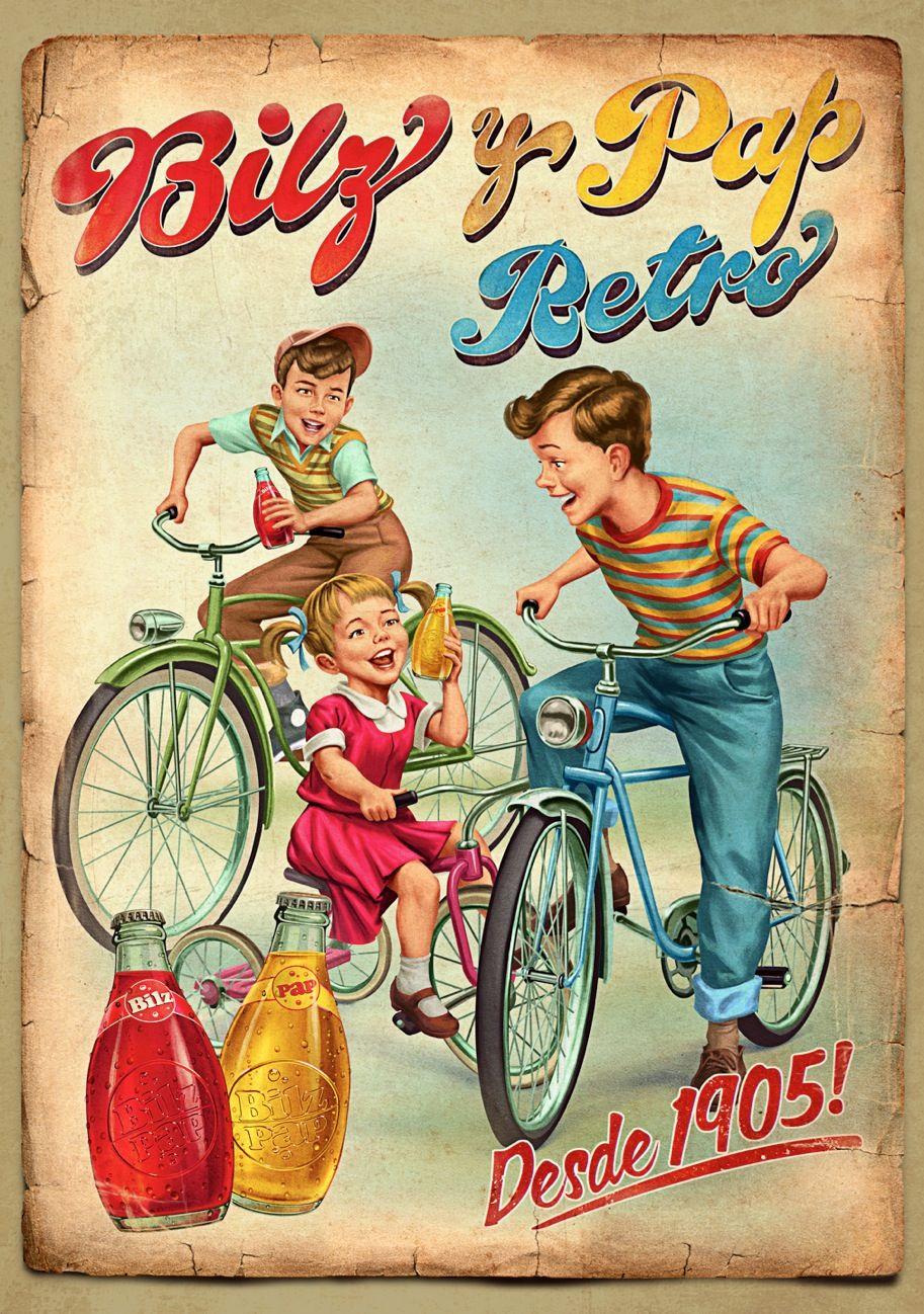Bilz y pap retro retro vintage bilzypap chile carteles pinterest - Carteles retro ...