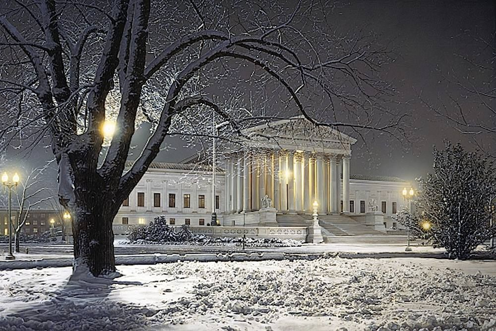 Justice for all rod chase winter scenes photographic print