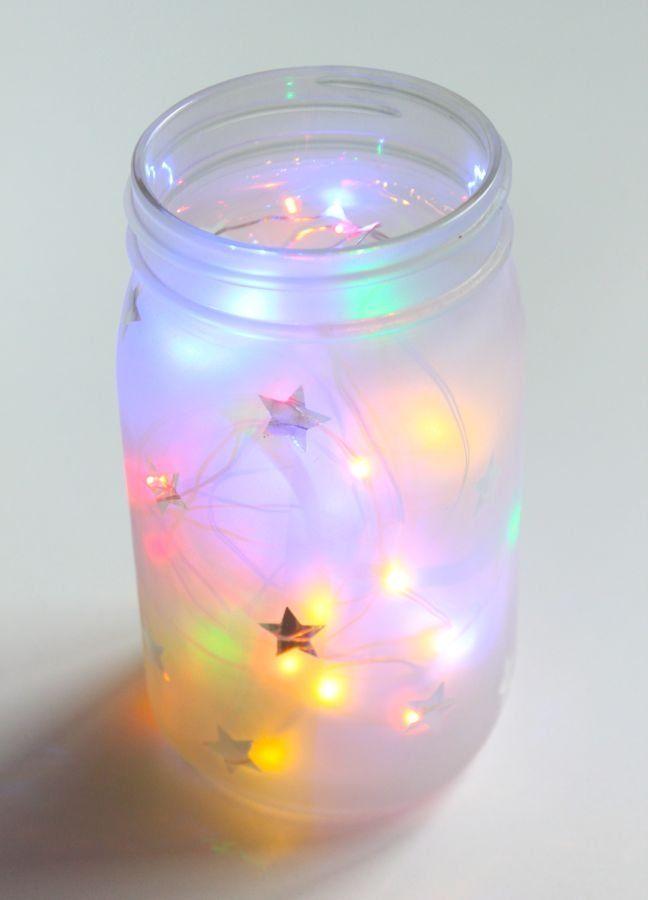 This DIY Mason Jar Night Light Makes the Dark a Lot Less Scary