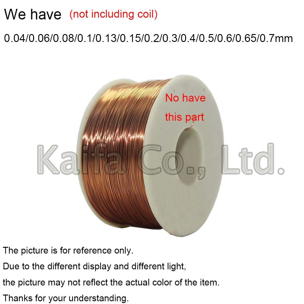 20m Roll 0 04 0 06 0 08 0 1 0 13 0 15 0 2 0 3 0 4mm Enameled Wire Soldering Wire Kit Magnet Wire Tool Copper Wire Acces Magnet Wire Different Light Copper Wire