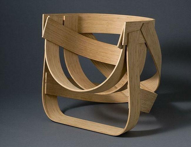 Holz Stuhl Bambus innovative Konstruktion | makerhouse | Pinterest ...