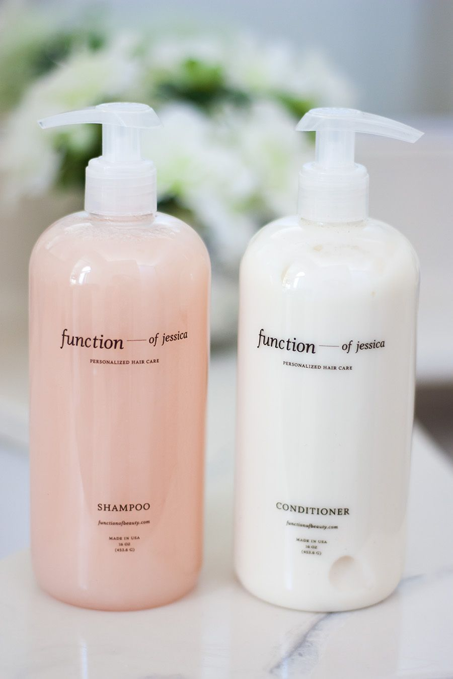 Create Your Own Shampoo! Function of Beauty Customized