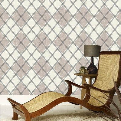 Argyle Charcoal / Taupe