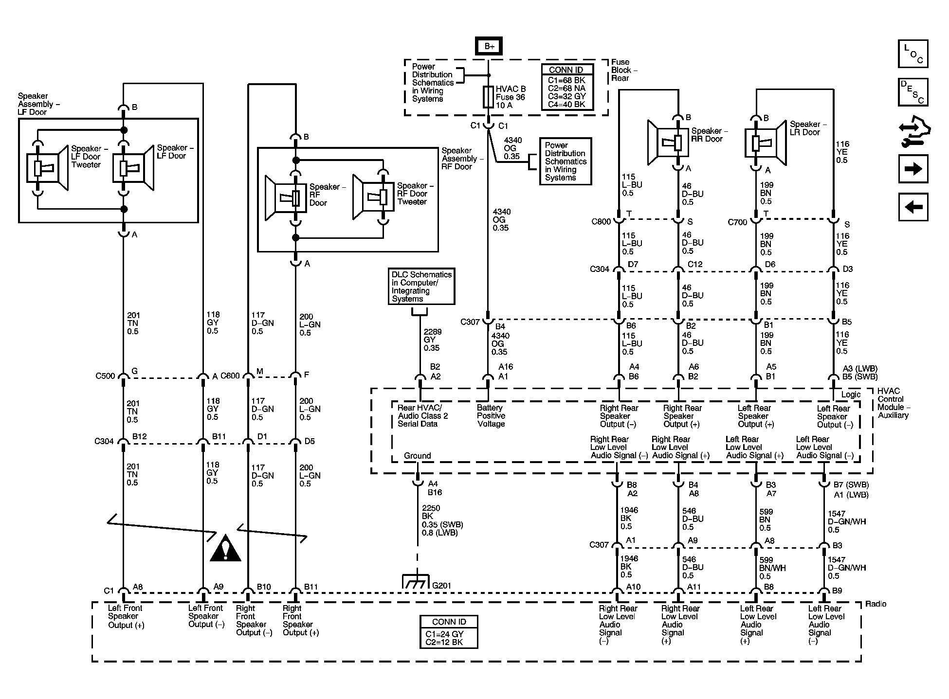 Chevy Trailblazer Fig 3 Base Radio