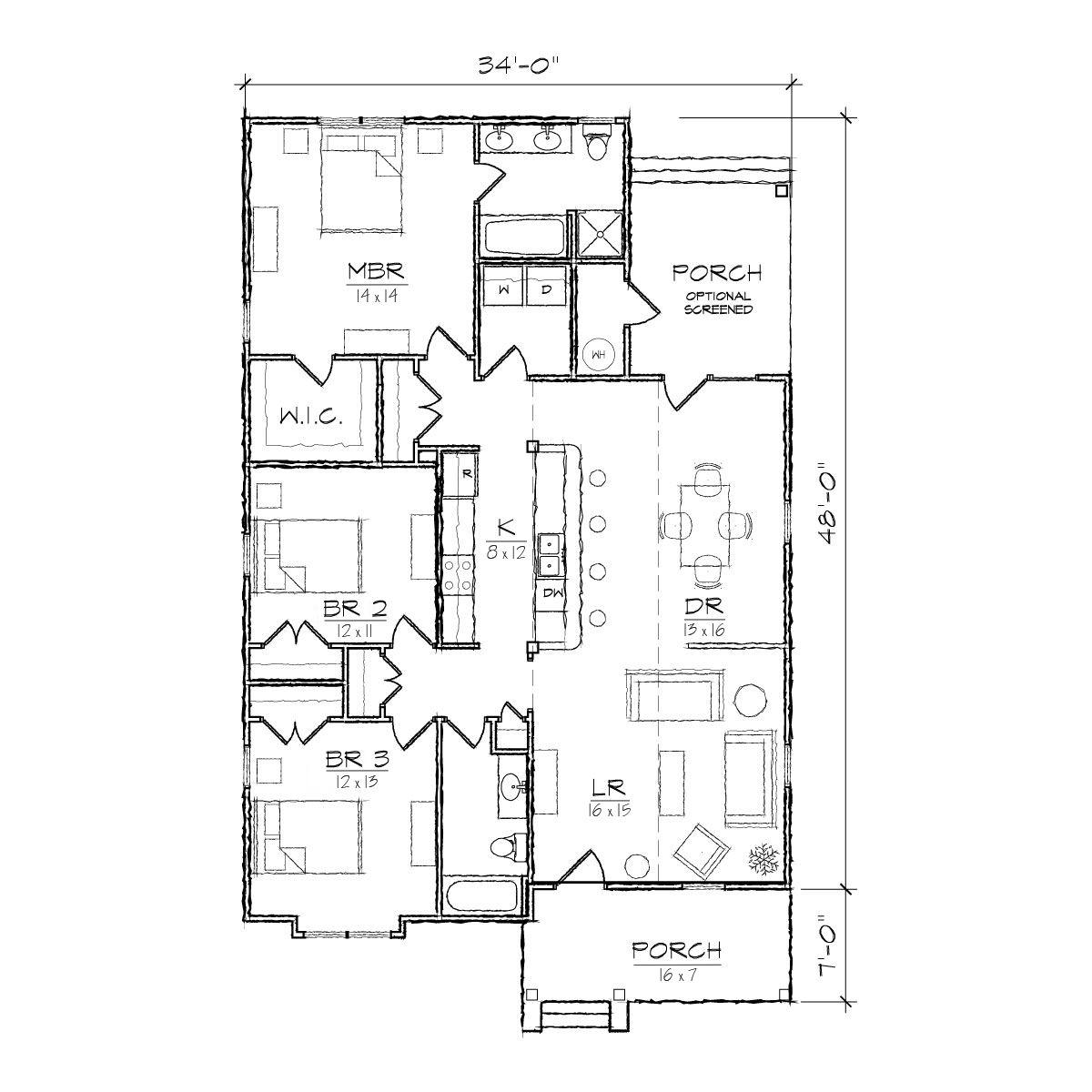 Carlisle III floor plan