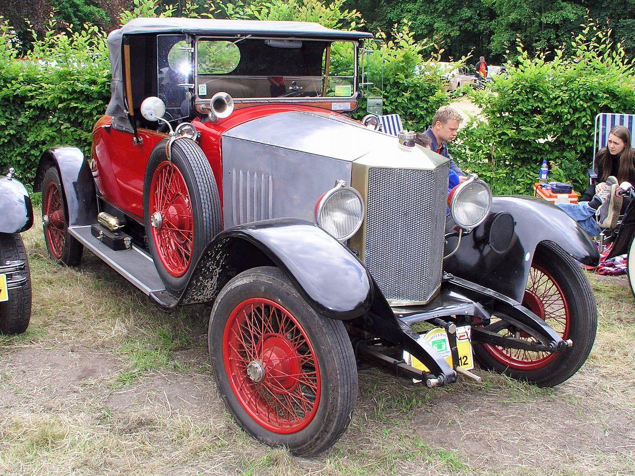 Metallurgique 12-14 HP | Obscure Vintage Automobiles From Belgium ...