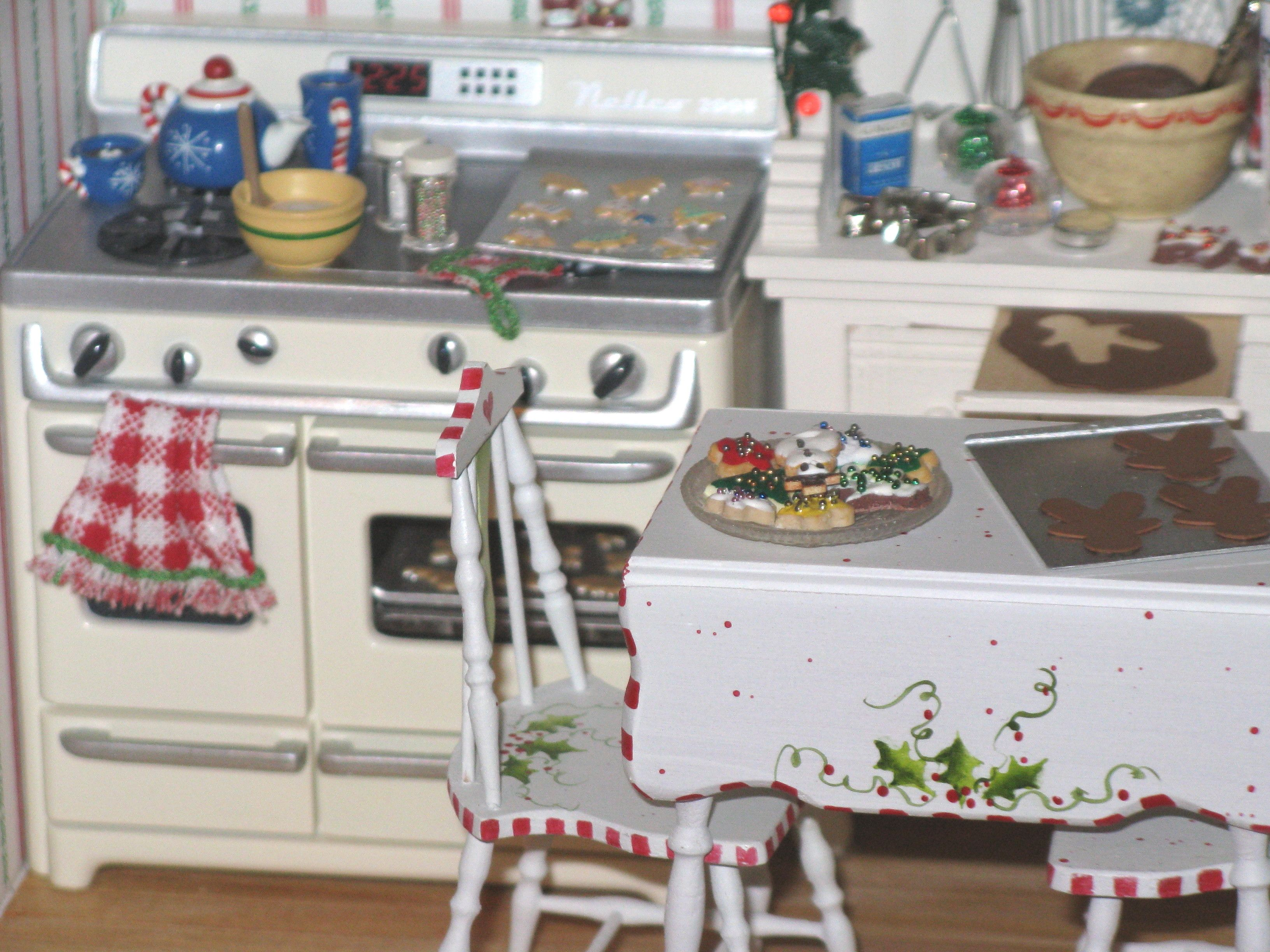 Kitchen Ornament Christmas Kitchen The Stove Is A Hallmark Christmas Ornament
