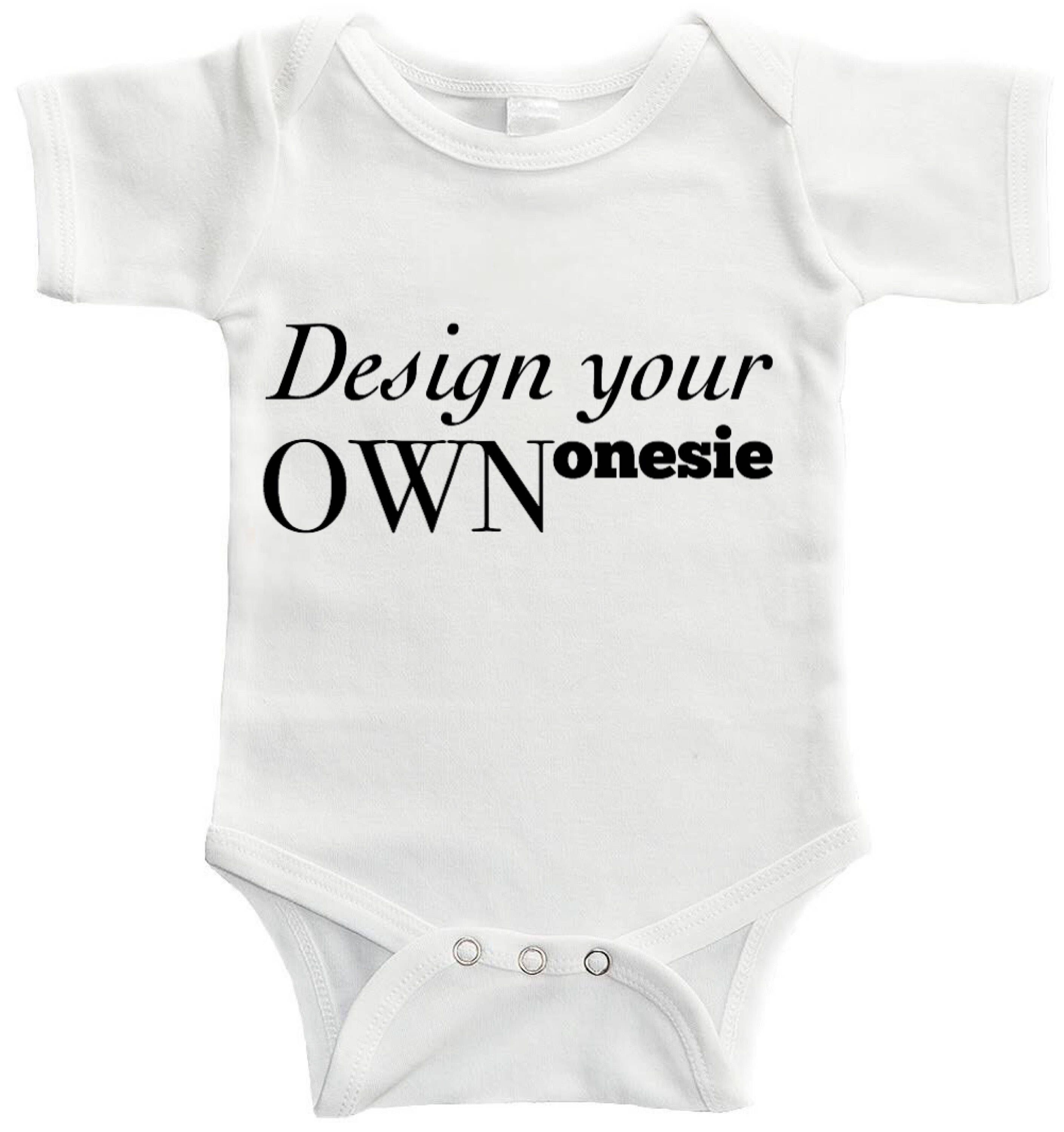 639626126 Excited to share the latest addition to my #etsy shop: Custom baby onesie •  make your own onesie • customizable • design your own • create your baby  clothes ...