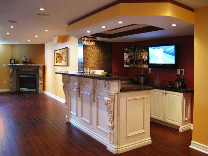 Bulkhead Over Bar Finishing Basement Basement Bar Basement Bar Designs