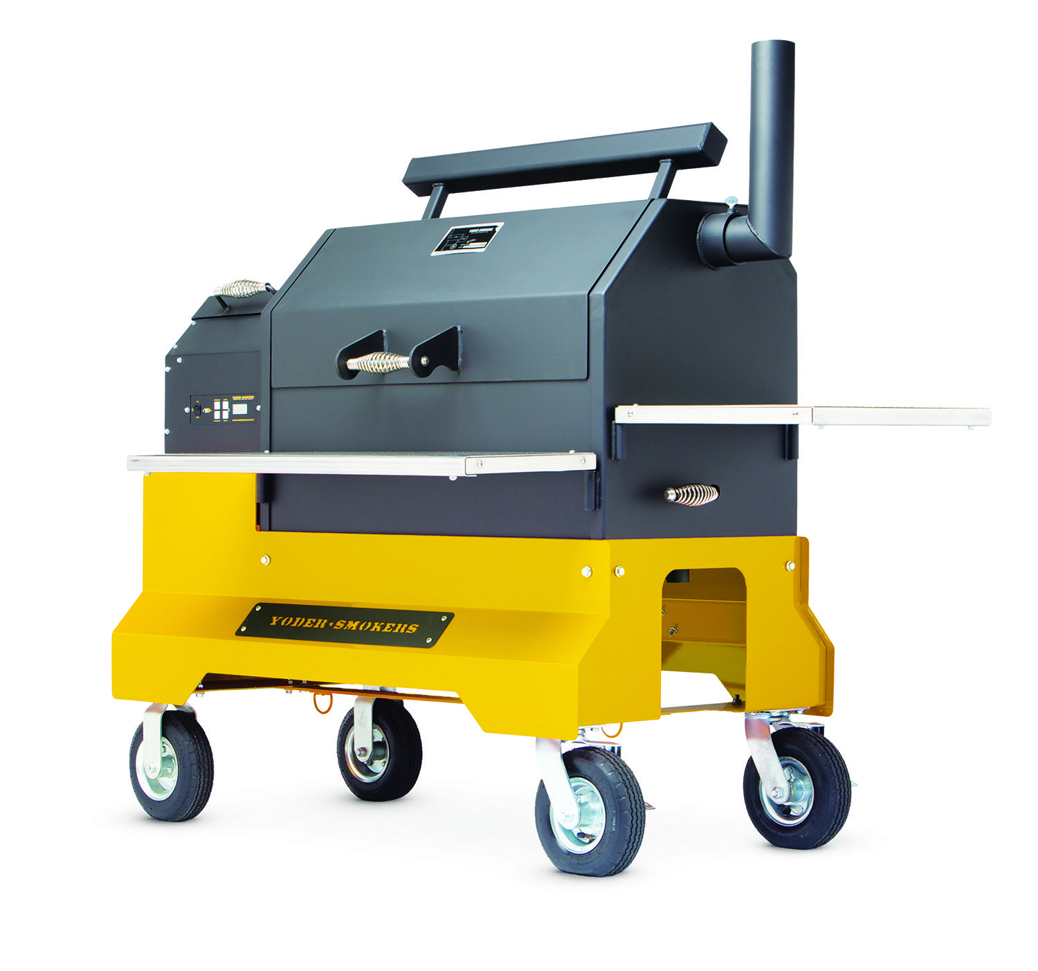 The Yoder Smokers YS640 Competition Cart is now available in