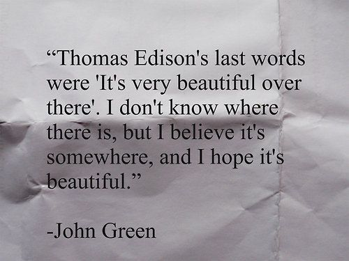 Looking For Alaska Quotes Tumblr: 20 Inspiring Quotes From John Green