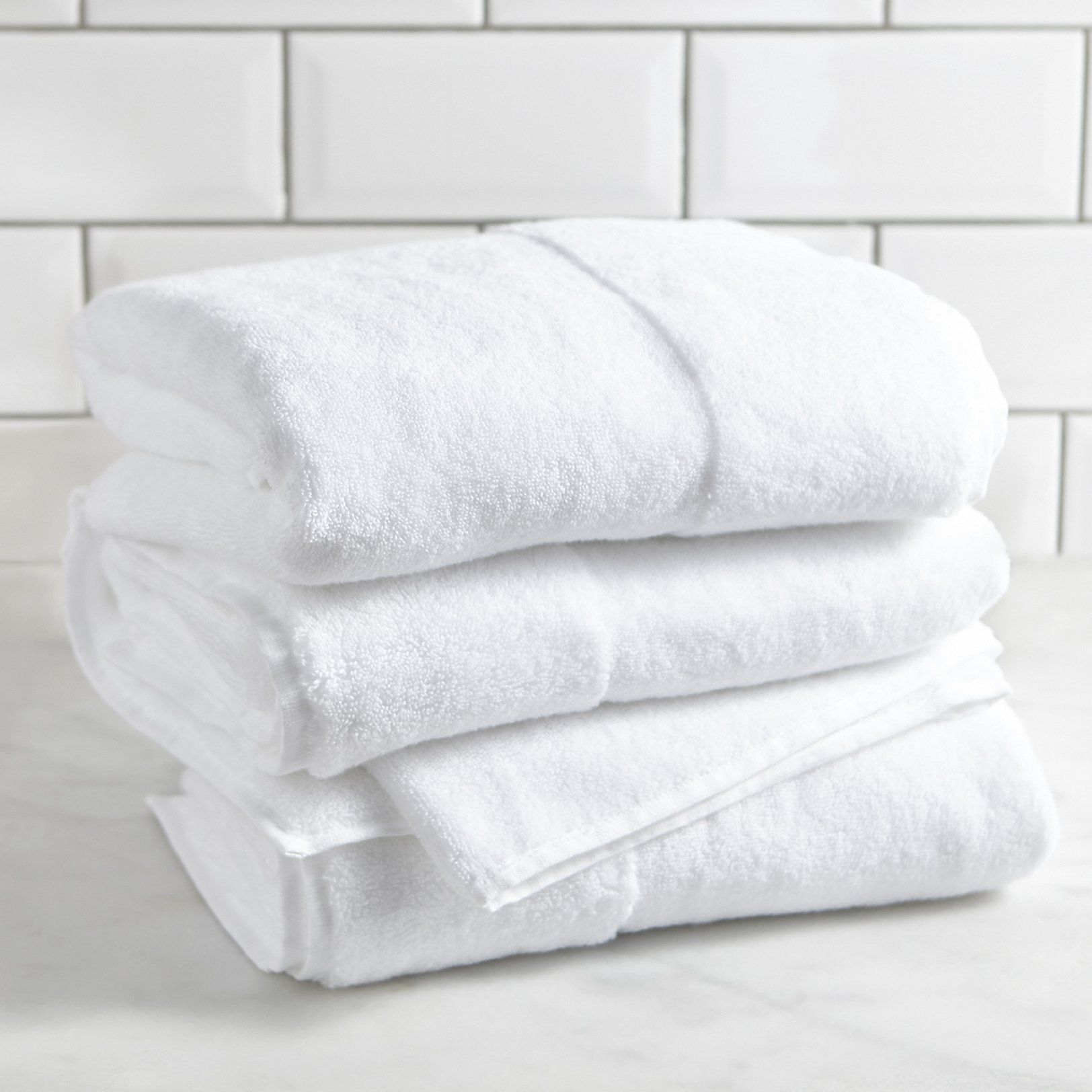Classic Hydrocotton Towel Towels Bathroom Home The White