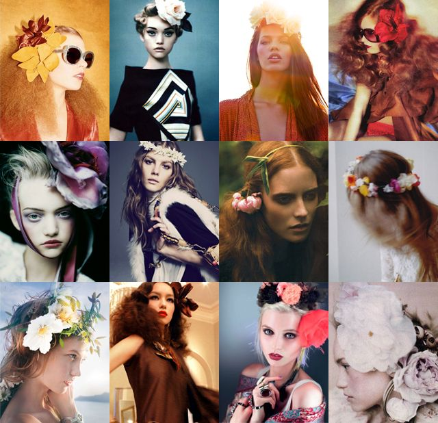 How to...Floral Headband!  These photos are gorgeous, the actual demo isn't as pretty. But I'm sure that anyone could make it alot better.