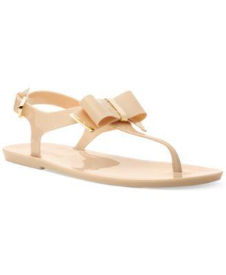 e4f050c3f419 MICHAEL Michael Kors Kayden Jelly Thong Sandals
