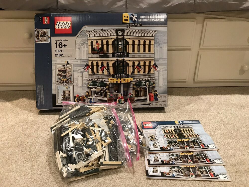 LEGO Creator Grand Emporium 10211 Complete With Box And