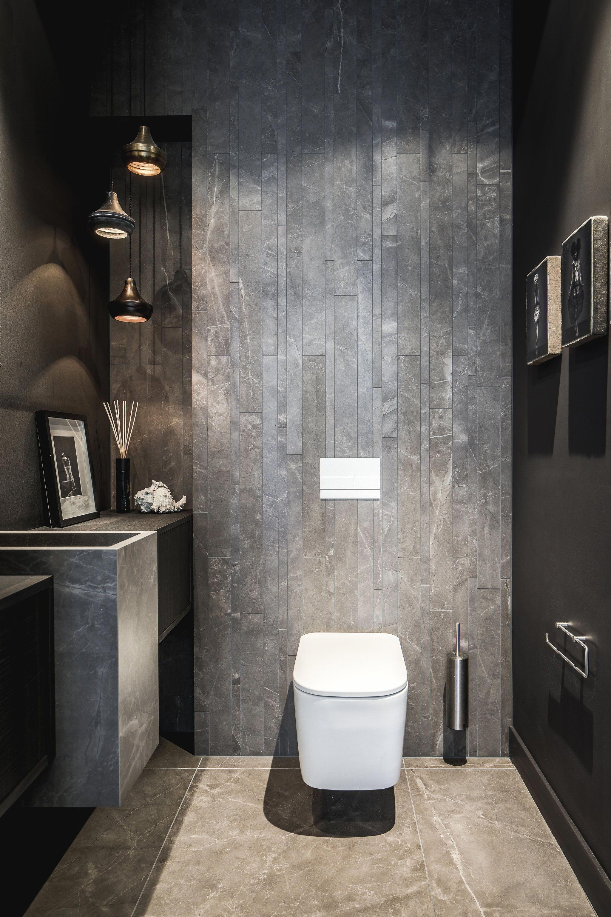 Dark Bathroom Tile Darkbathroomwalls Toilet Design Bathroom Interior Design Shabby Chic Bathroom