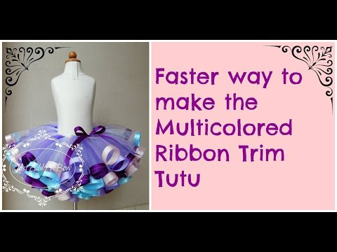 The Easiest Way To Make A Ribbon Edged Tutu