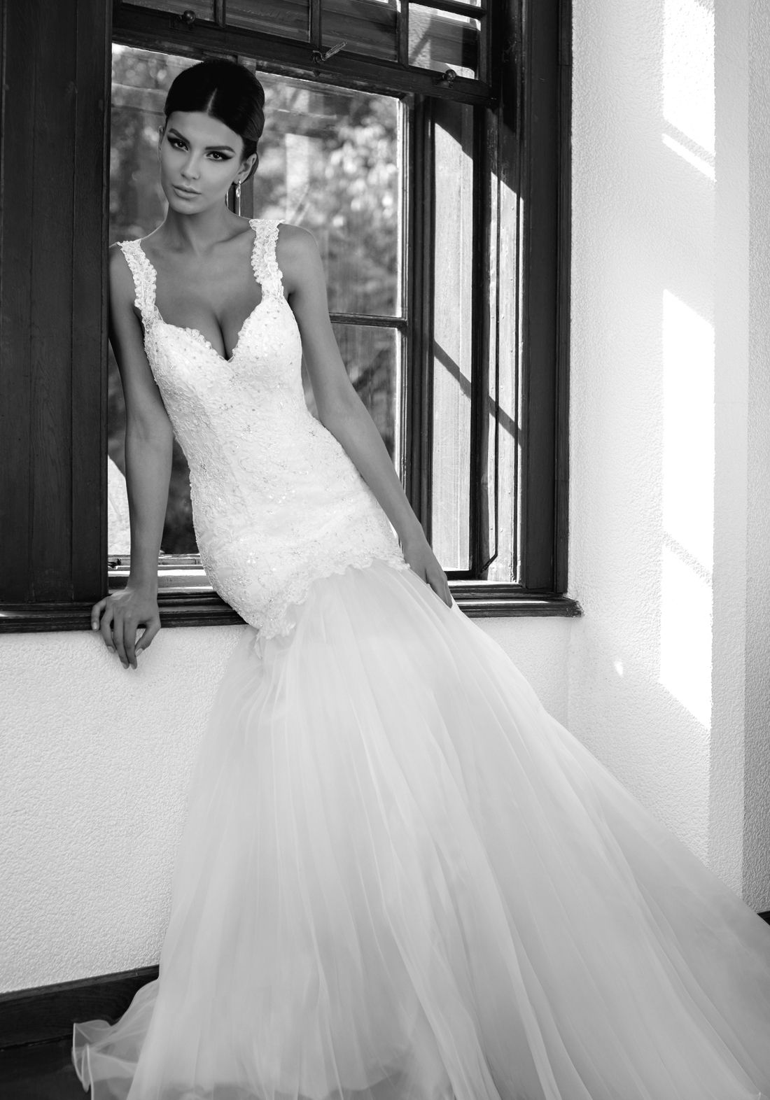 Edgy wedding dresses  GABRIELLE  Wedding Dresses  One Love  Collection  Bien Savvy