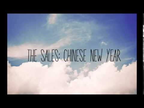The Sales Chinese New Year Lyrics Youtube New Years Song