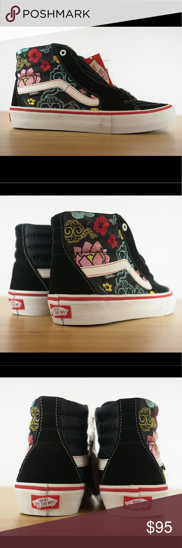 e671df5a88d0df Vans Sk8 Hi Pro Lizzie Armanto Black Floral Casual Vans Sk8 Hi Pro Lizzie  Armanto Black Floral Casual Brand New in Box Ships same day if ordered by  10AM ...