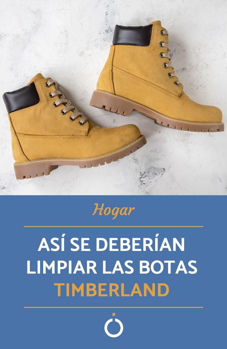 Como Limpiar Botas Timberland Paso A Paso Como Limpiar Zapatos Limpieza De Zapatos Limpiar Zapatos De Gamuza