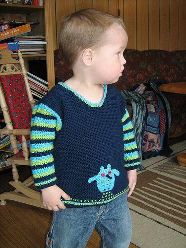 milo owl sweater