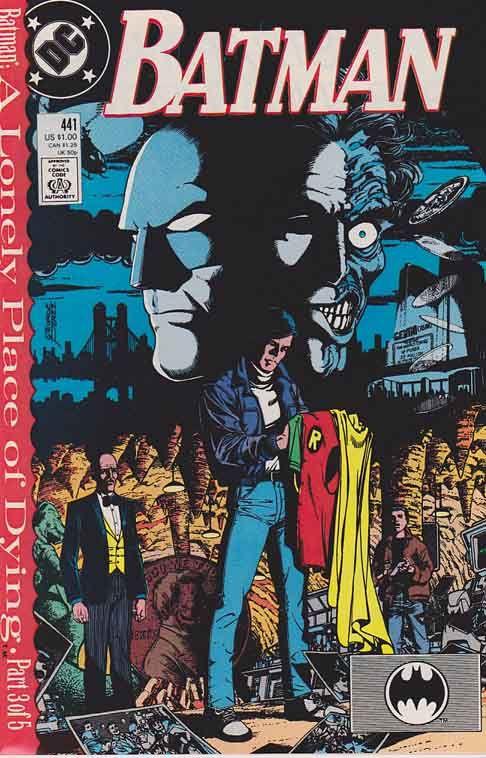 Batman #436 (1st Tim Drake - 1st page Signed By Pat Broderick) Very Fine/Near Mint $20.00