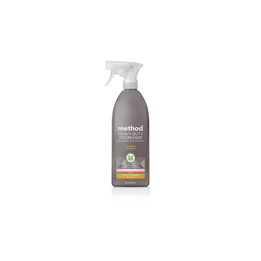 Method Cleaning Products Kitchen Degreaser Lemongrass Spray Bottle