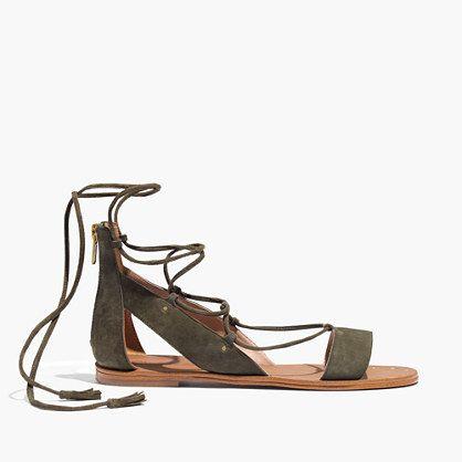 ca199276e47b Madewell The Bridget Lace-Up Sandal