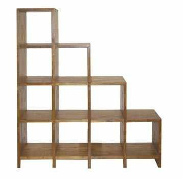 Perfect Stair Cubby Bookcase Could Be Used To Display Action Figures.