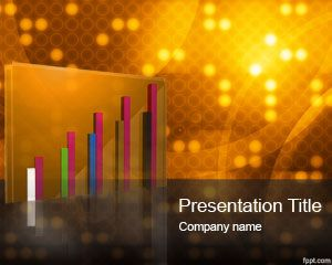 Free gold powerpoint template is a free gold template slide design free gold powerpoint template is a free gold template slide design with nice retro image with circles and 3d chart with gold style toneelgroepblik Image collections
