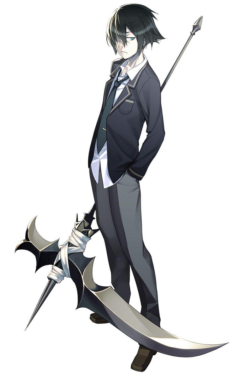 Anime Characters Using Sword : Characterconcepts kei takanashi from mind≒ character