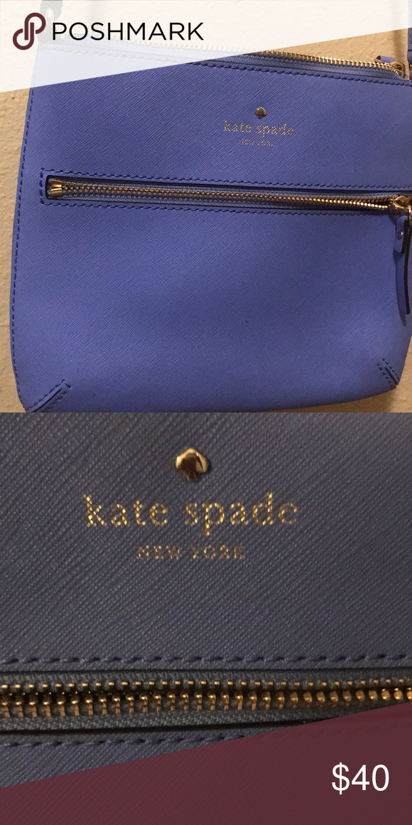 Baby blue Kate spade brand new crossbody