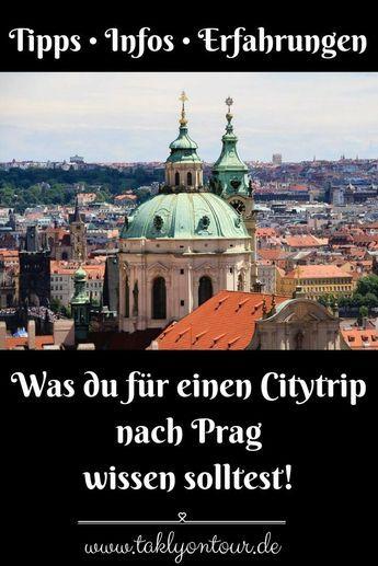 Prag Tipps • Alle Informationen für deine Prag Reise