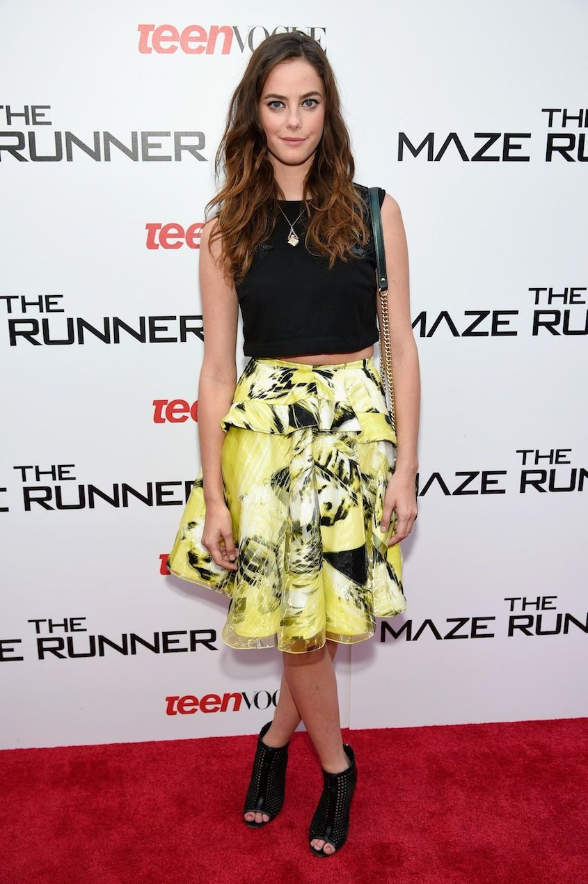 kaya scodelario's style is so not mellow yellow