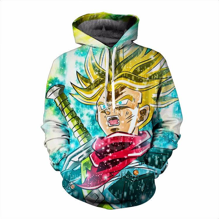 Angry Hoodie Color Scream Dbz Trendy Goku Aura Power Pocket Zwx8nTHq