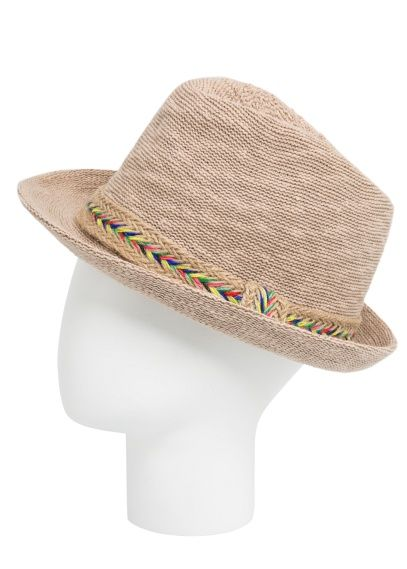 Chapeau fedora ruban