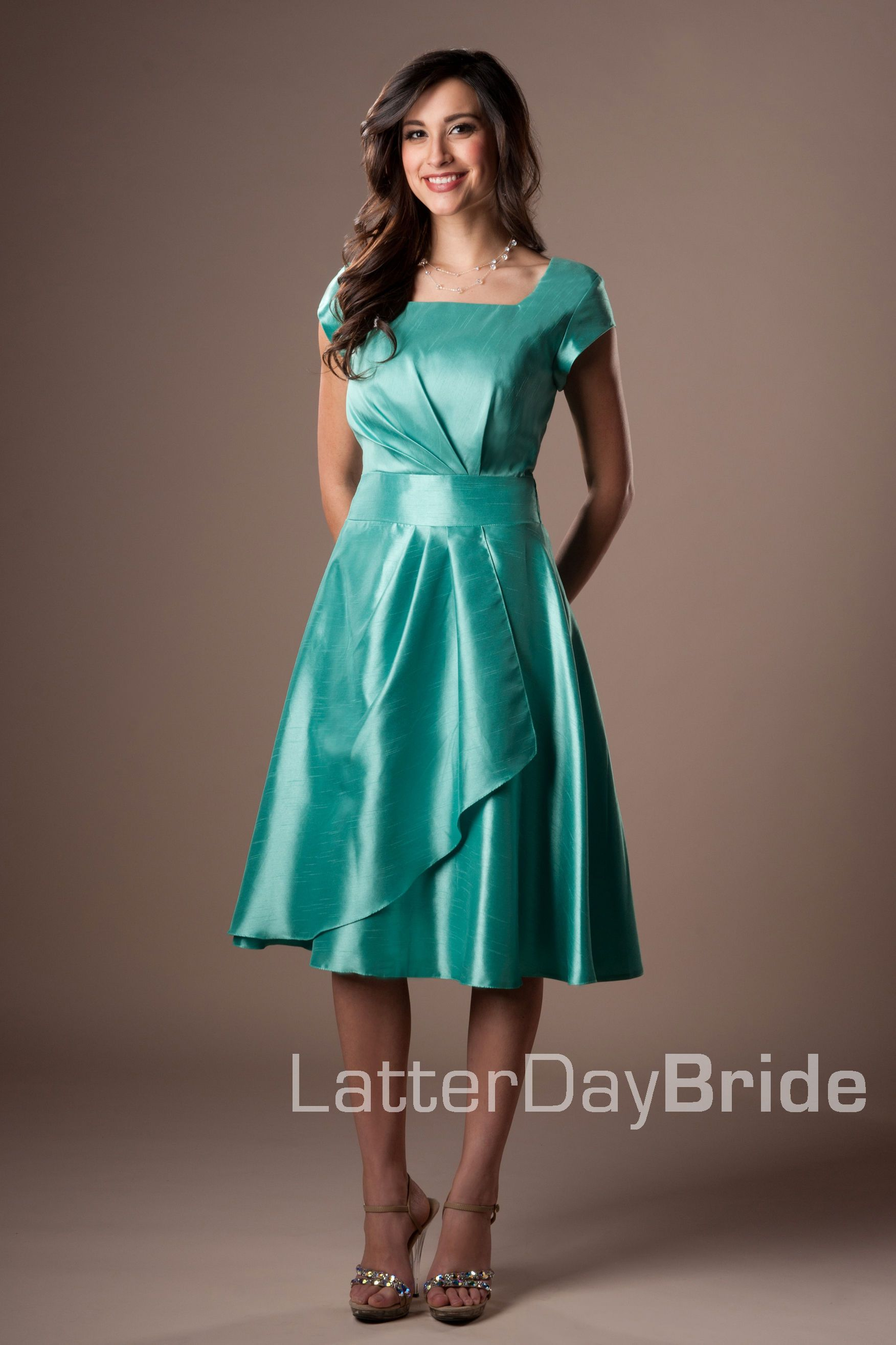 Bridesmaid & Prom, Mary | LatterDayBride & Prom Modest Mormon LDS ...